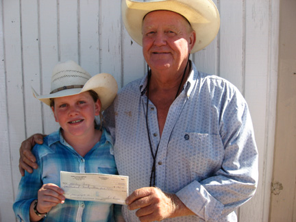 Four's Division Winners - Harlie Ray and Keith Hanson